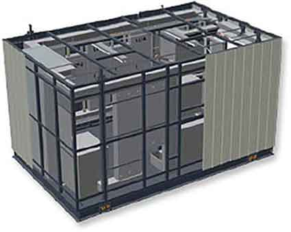PCX Prefabricated Electrical Distribution Centers (EDC) build on PCX