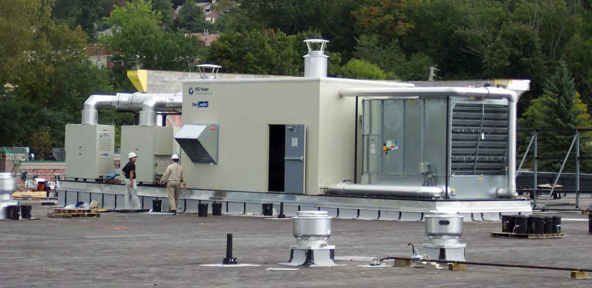 Combined Heat Power Roof Mount System1200